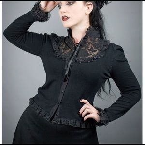 BANNED Lace Cardigan